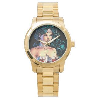 Montres Bracelet Lasso passionnant de femme de merveille placé sur