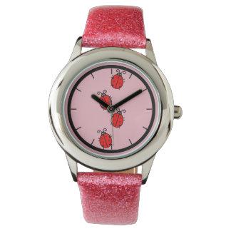 Montres Bracelet Madame mignonne Bug Kids Watch