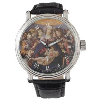 Montres Bracelet Madonna et enfant avec des anges par Sandro