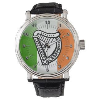 Montres Bracelet Manteau des bras irlandais
