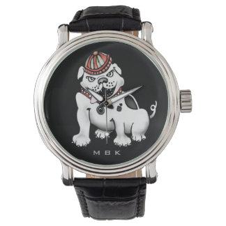 Montres Bracelet Mauvaise montre-bracelet d'amusement de bouledogue