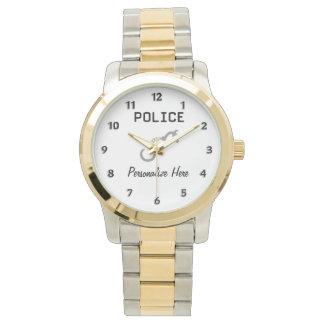 Montres Bracelet Menottes de police