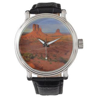 Montres Bracelet Mitaines, vallée de monument, AZ
