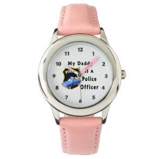 Montres Bracelet Mon papa est un policier