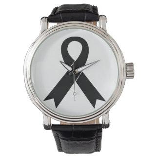 Montres Bracelet Montre-bracelet de conscience de mélanome