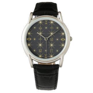 Montres Bracelet Motif magique de symboles