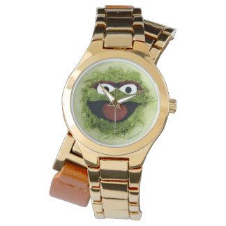Montres Bracelet Oscar la tendance d'aquarelle du rouspéteur  