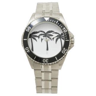 Montres Bracelet Palmiers tropicaux