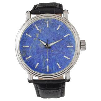 Montres Bracelet Pierre gemme bleue de Lazurite