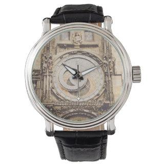 Montres Bracelet Prague, horloge astronomique de République Tchèque