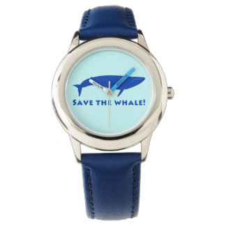 Montres Bracelet Sauvez les baleines !