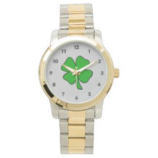 Montres Bracelet Shamrock irlandais
