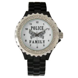 Montres Bracelet Tatouage de famille de police