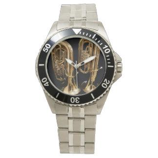 Montres Bracelet Two Tubas Watch
