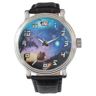 Montres Bracelet Vaisseau spatial de Voyager d'illustration