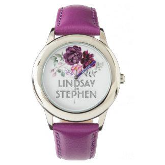 Montres Bracelet watch cuir lindsay and stephen