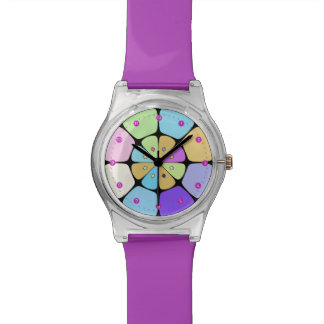 "Montres Cadran May28th ""Fleur stylisée Pop Art"""