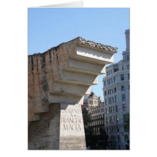 Monument de Francesc Macià, Barcelone Carte