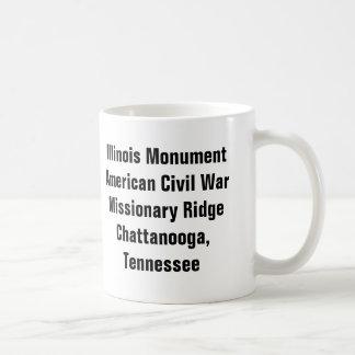 Monument de l'Illinois - Chattanooga, TN Mug