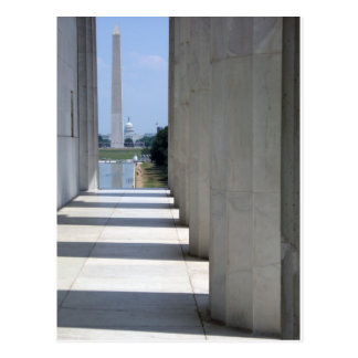 monument du Lincoln Memorial Washington Carte Postale