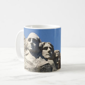 Monument national présidentiel du mont Rushmore Mug Blanc