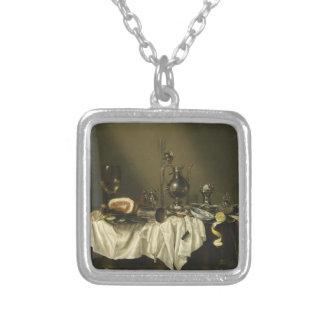 Morceau de banquet avec du jambon par Willem Collier
