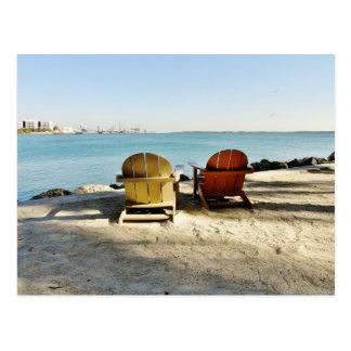 Morceau en carte postale du centre de Miami