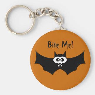 Mordez-moi batte de Halloween Porte-clés