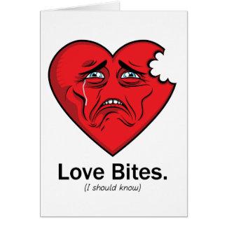 Morsures d'amour carte