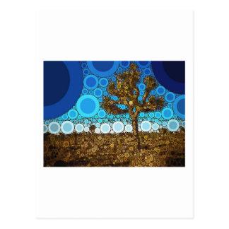 Mosaïque d'arbre de Joshua Carte Postale