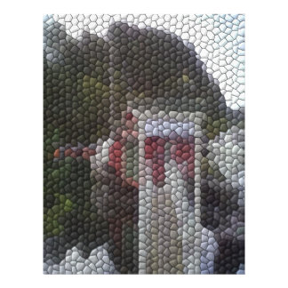 Mosaïque de photo tract