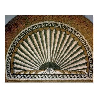Mosaïque de Shell, ANNONCE de construction de Carte Postale