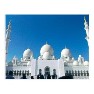 Mosquée à Abu Dhabi Carte Postale