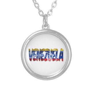 Mot du Venezuela avec le collier de texture de