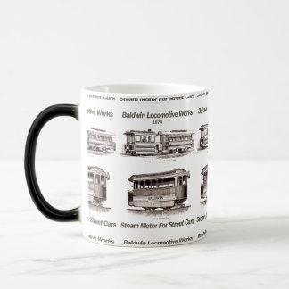 Moteur de vapeur de Baldwin pour des voitures de Mug Magic