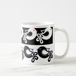 motif 1 d'oiseaux mug