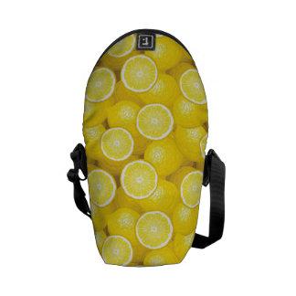 Motif 2 de citron besace