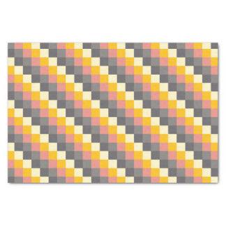 Motif abstrait de couleur de grille papier mousseline