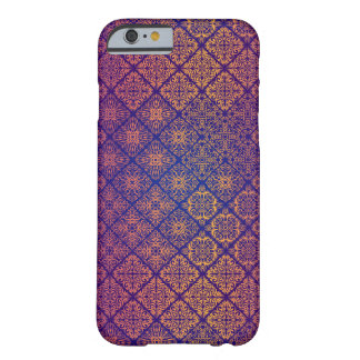 Motif antique royal de luxe floral coque barely there iPhone 6