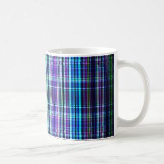 Motif approximatif de rayures mug