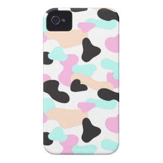 Motif au néon de camouflage de couleurs coque iPhone 4 Case-Mate