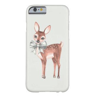 Motif avec les cerfs communs 1 de bébé coque iPhone 6 barely there