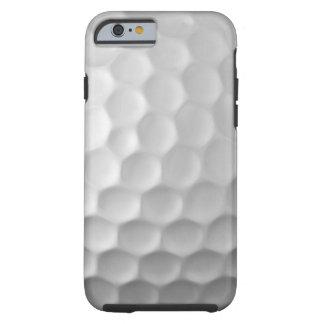 Motif blanc de balle de golf de cas de l'iPhone 6