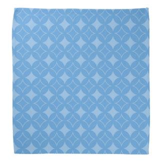 Motif bleu astucieux de shippo bandana