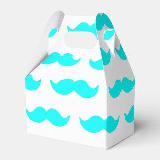 Motif bleu et blanc 1 d'Aqua de moustache Ballottins Pour Dragées