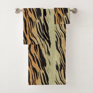 Motif contemporain moderne de tigre