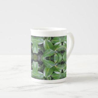 Motif d'arbre en caoutchouc mug