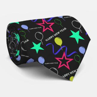 Motif de bonne année cravate