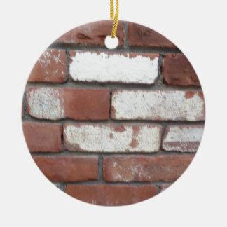 Motif de brique ornement rond en céramique
