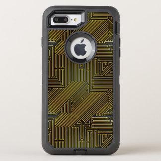 Motif de carte d'ordinateur coque OtterBox defender iPhone 8 plus/7 plus